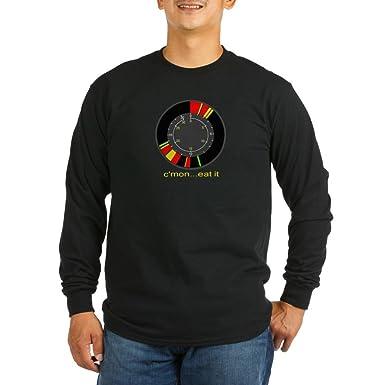 5e18199de Amazon.com: CafePress Ice fishing flasher LS shirt Long Sleeve T: Clothing