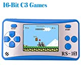 Kids Handheld Game Console Retro Video Game Player Portable Arcade Gaming System Birthday Gift for Children Travel Recreation 2.5