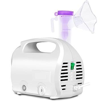 WAOBE - Nebulizador de compresor para el cuidado de la salud - Sin ruido Hogar El dolor Nebulizadores ...