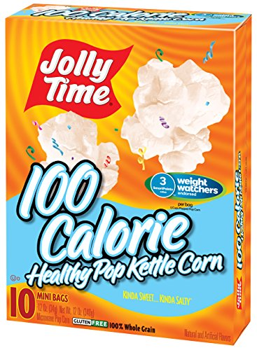 Mini Microwave Popcorn (Jolly Time Healthy Pop Kettle Corn Weight Watchers Microwave Popcorn Mini Bags, 10 Count (Pack of 3))