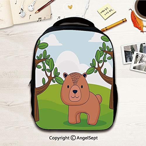 Kindergarten Preschool Bags,Cute animals design13,12.2