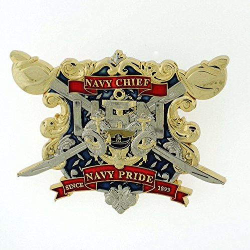 CPO CHIEF PETTY OFFICER American Flag & Deckplate SINCE 1893 Navy Challenge Coin