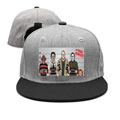 The Usual Horror Suspects Halloween snapback hats Classic Rock Punk Cap -