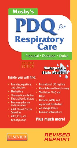 (Mosby's PDQ for Respiratory Care - Revised Reprint)