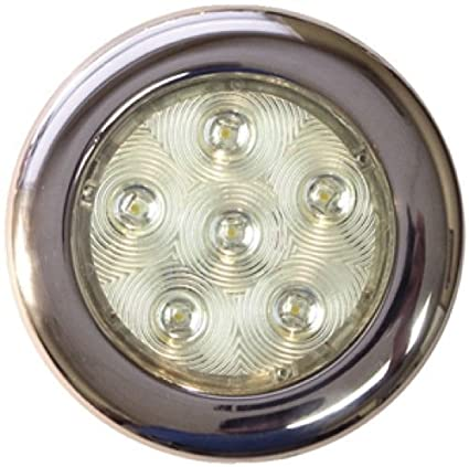 T-H Marine Stainless LED Puck Light