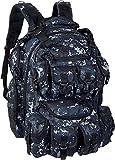 navy digital camo backpack - NPUSA Mens Hiking Molle Navy Digital Camo Tactical 2L Liter Hydration Ready 15