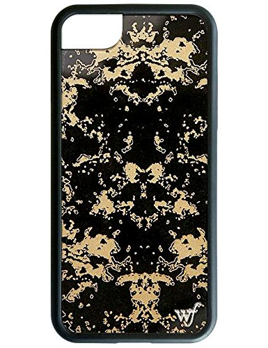 sports shoes 5cd66 70908 Wildflower Limited Edition iPhone Case for iPhone 6, 7, or 8 (Black Gold)