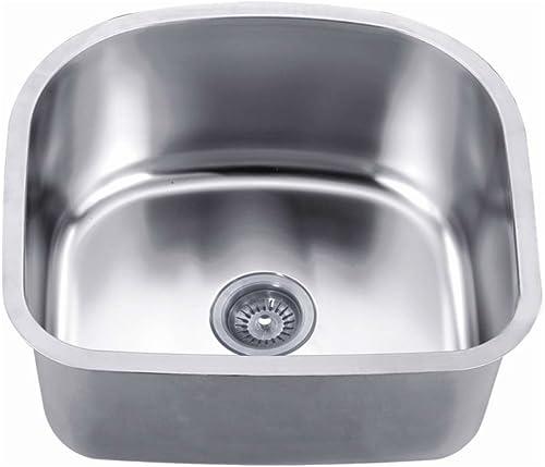 Daweier ES201809 Sink Single Bowl, 18 Gauge