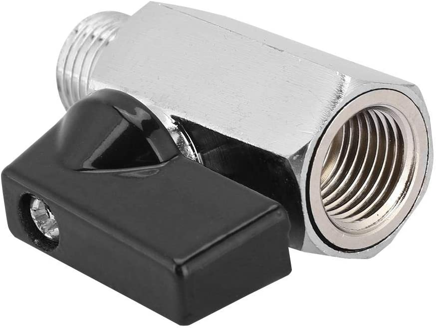 Computer G1//4 Thread Water Block Ball Valve Switch Water Cooling Mini Valve for Computer Water Cooling System Water Cooling Valve