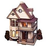 Tennyson Dollhouse Kit Greenleaf Dollhouses Laser Cut