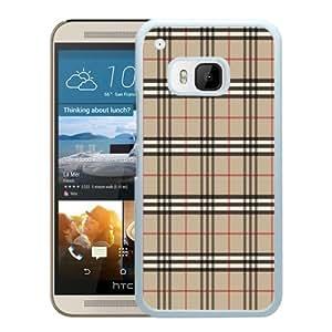 HTC ONE M9 Case,Burberry 45 White HTC ONE M9 Screen Cover Case Genuine and Fashion Design