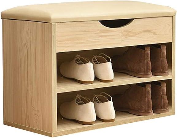 taille : 60 cm Cuisine & Maison Meuble à chaussures Banc à