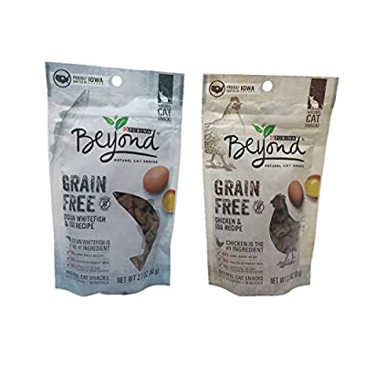 Cat Food Purina Beyond Grain Free Natural Cat Snacks, Bundle Set of 2... [tag]