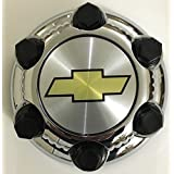 "Replacement Gosweet 1X Chrome Chevy Silverado 1500 Tahoe 6 Lug Center Cap 16"" 17"" 2000-2010 1571237 15067578 560-05129 Steel wheels US Fast Shipment"