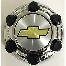 "Gosweet 1X Chrome Chevy Silverado 1500 Tahoe 6 Lug Center Cap 16"" 17"" 2000 -2010 1571237 15067578 560-05129 Steel Wheels US Fast Shipment"