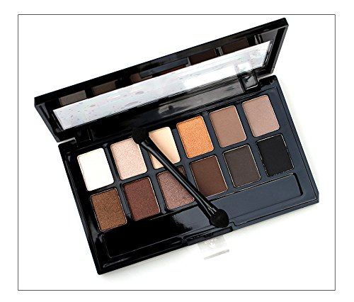 New arrival 12 Colors Set Women Makeup Eyeshadow Palette Eyebrow Eye Shadow Powder Cosmetic
