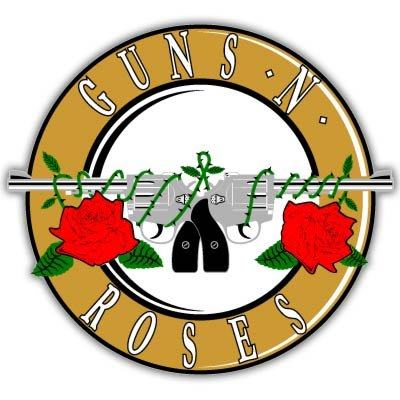 Guns Roses Vynil Sticker Decal product image