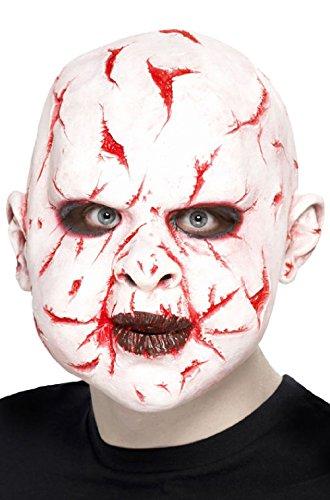 Scarface Costume Mask (Baby Horror Flesh Scarface Unisex Overhead Costume Mask)