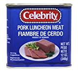 午餐肉 Celebrity Luncheon Meat Pork 12oz (pack of 3)