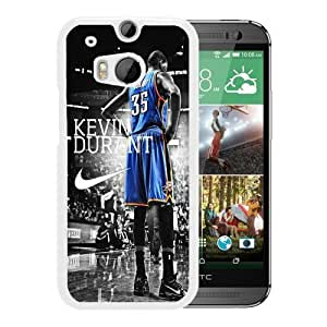 Generic NBA All Star Oklahoma City Thunder Kevin Durant Customization Plastic Case for HTC One M8