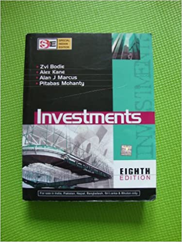Investments 8th edition softcover international edition alan j investments 8th edition softcover international edition alan j marcus pitabas mohanty zvi bodie author alex kane 9780070151574 amazon books fandeluxe Gallery