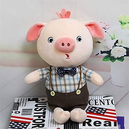 Almohada de Peluche Los nuevos Caballeros muñeca Cerdo Tela de ...