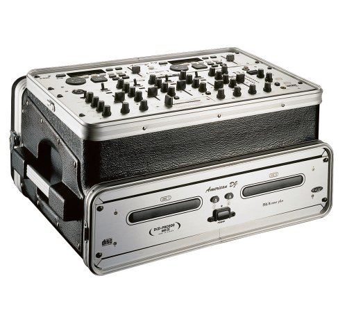 Console 4 Rack - Gator 6U Top, 4U Side Console Audio Rack (GRC-6X4)