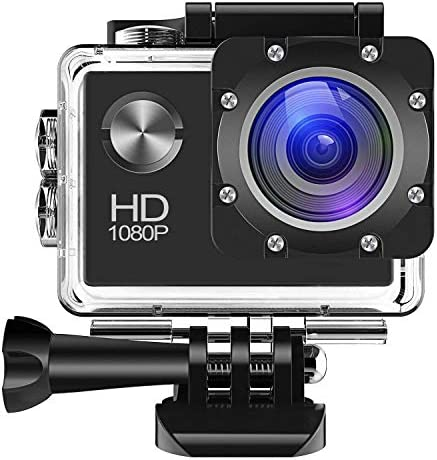 Action Camera 1080P 12MP Sports Camera Full HD 2.0 Inch Acti