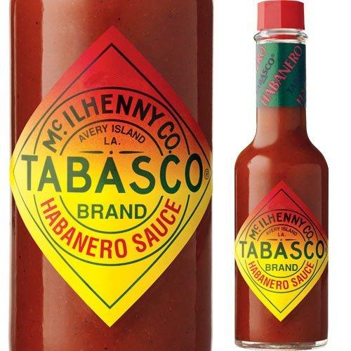 Tabasco Habanero Pepper Sauce, 5 ounce bottle