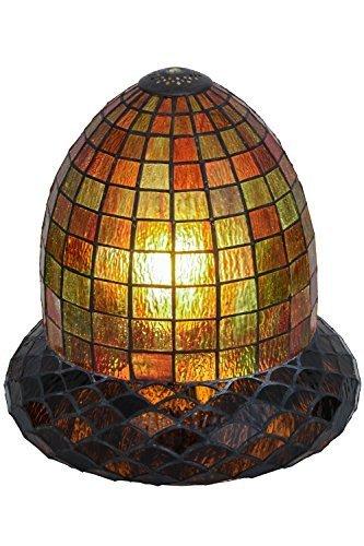 Meyda Lighting 51846 12''W Acorn Replacement Shade by Meyda