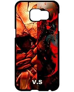 Samsung Galaxy S6 Case Lovers Gifts Samsung Galaxy S6/S6 Edge Case, Asura Wrath Street Fighter Asura vs Akuma Series Hard Plastic Case for Samsung Galaxy S6/S6 Edge 8461037ZB941457272S6