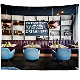 Westlake Art - Restaurant Cafe - Wall Hanging Tapestry - Picture Photography Artwork Home Decor Living Room - 68x80 Inch (25D6-D30A2)
