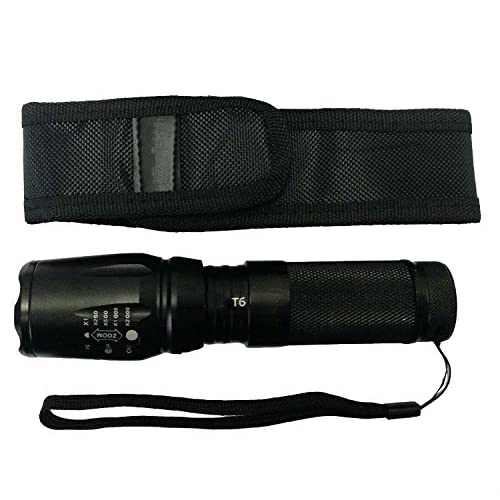 8fb632189b03 Lcyyo@ 1000LM 5-Mode Tactical T6 LED Flashlight Zoomable Adjustable ...