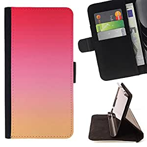 Jordan Colourful Shop - Pink Red Yellow Sky Nature Sunset For Apple Iphone 5C - Leather Case Absorci???¡¯???€????€?????????