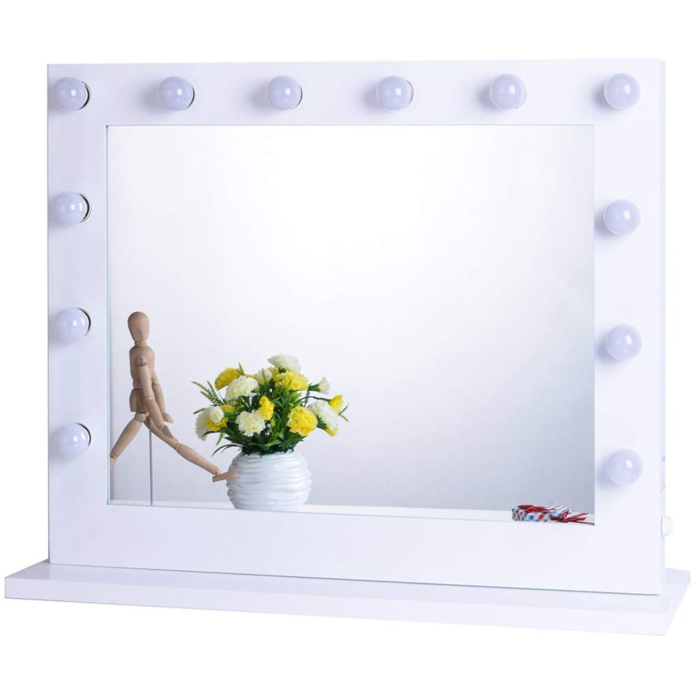 Chende Hollywood Lighted Makeup Vanity Mirror Light