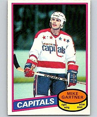 Amazon.com  1980-81 O-Pee-Chee  195 Mike Gartner RC Rookie Capitals ... 15596d816
