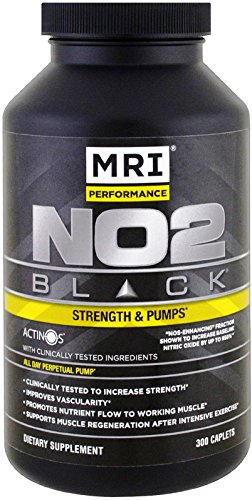 MRI NO2 Black Strength & Pumps NOS-Enhanced Hemodilator 300 - Black No2
