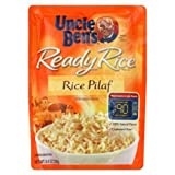 Uncle Ben's Ready Rice, Rice Pilaf, 8.8-Ounce Pouches (Pack of 12) by Uncle Ben's