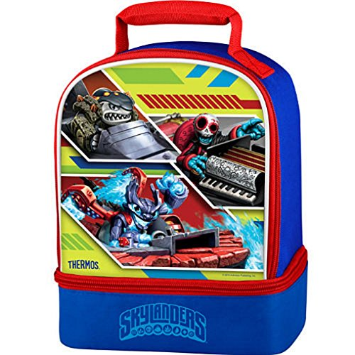 Skylanders Dual Compartment Insulated Lunch Bag for $<!--$11.79-->