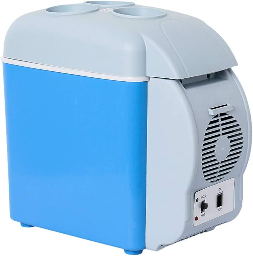 7.5 Litre Mini Car Refrigerator Fridge Portable Electric Cooler Box Warmer Freezer Outdoor Caming Picnic Travel