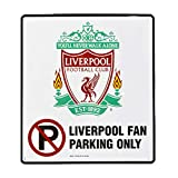 Liverpool FC Official Fan Parking Only Room Sign (One Size) (White)