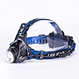 Adjustable 30000 Lumens Headlamp XM-L 3x T6 LED Headlight...