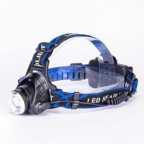 Adjustable 30000 Lumens Headlamp XM L 3x T6 LED Headlight 18650 Light Head Torch Light Lamp