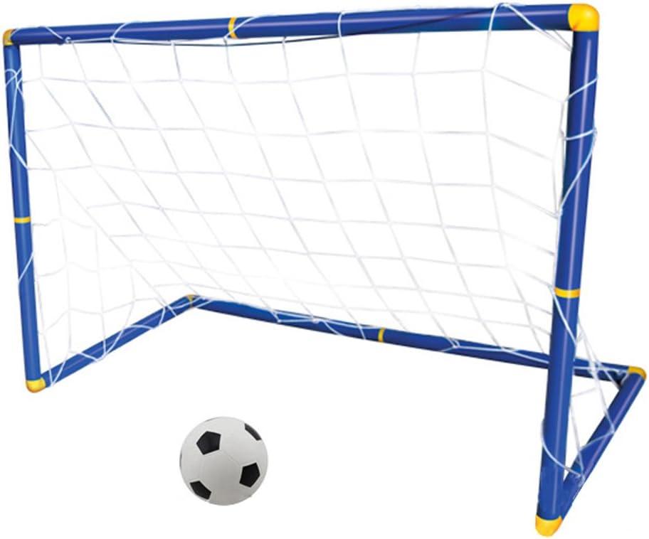 BOZEVON Niños Infantiles al Aire Libre Goal Soccer balón de Fútbol ...