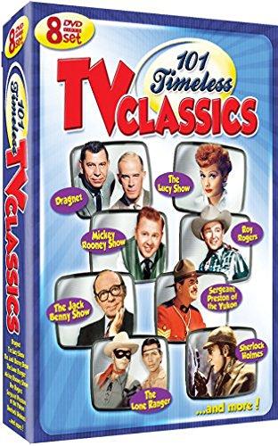 DVD : 101 Timeless Tv Classics (Slim Pack, 8PC)
