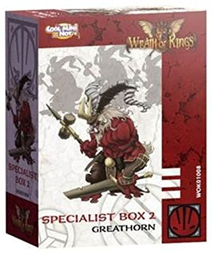 Wrath of Kings: Nasier Great Horn Box from Cool Mini or Not