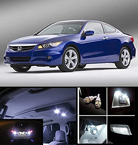 EliteTech 2013   2017 Honda Accord 2 Door Coupe Premium LED Package Xenon  White