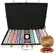 1000 Ct Las Vegas 14 gram Poker Chip Set Aluminum Case Custom Build