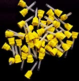 DEFEND T-STYLE MIXING TIPS YELLOW 4.2mm #VP-8105T 48Tips/ Bag