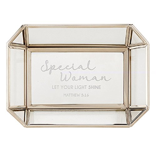 Special Woman - Matthew 5:16 - Numbers 6:24 Tabletop Tray, 7'' X 5''. by AT001